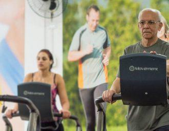 A sada de Sebastião Naves: idosos na academia